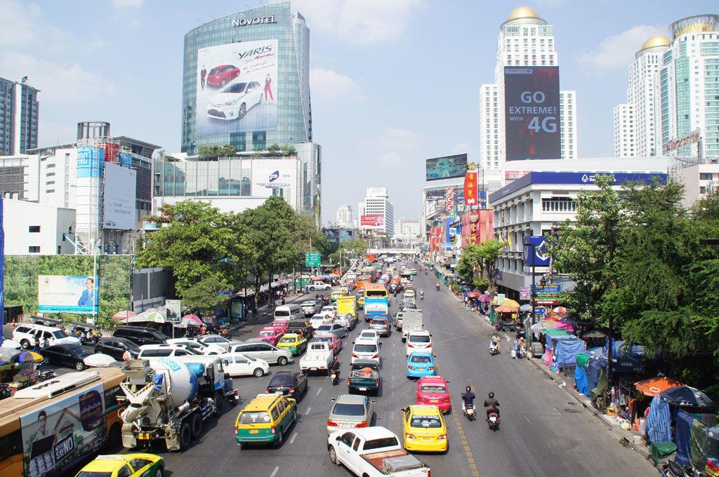 Bangkok Hauptstadt Thailand Reise