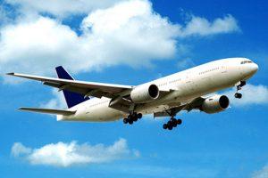 Per Flugzeug anreisen