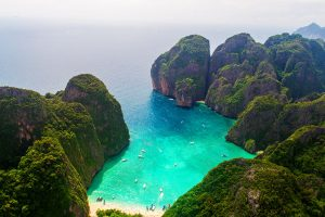 The Beach bei Koh Phi Phi nahe Khao Lak